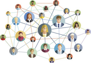 networked practitioners and researchers from multiple disciplines